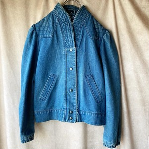USA vintage denim jacket/アメリカ古着・デザインデニムジャケット