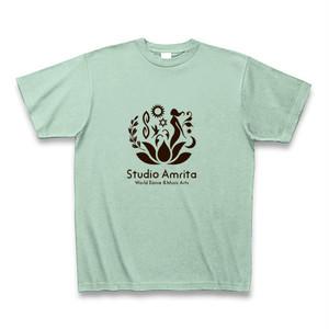 Studio Amrita オリジナルTシャツ(アイスグリーン)