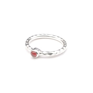 SINGLE PETIT STONE NON-ADJUSTABLE RING 025