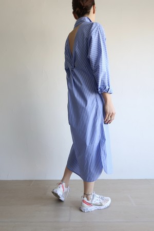 GIZA Cotton Sicily dress / Blue