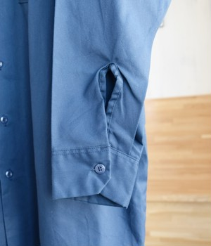 VINTAGE 90s DICKIES WORK SHIRT -MADE in USA-