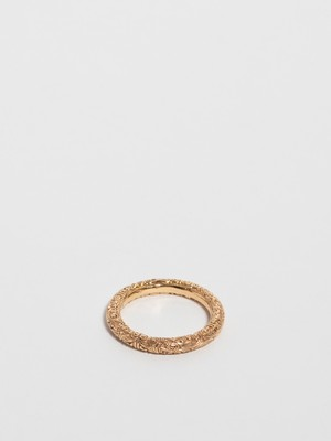 Gold Band Ring / Gerochristo