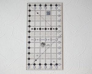 再入荷 インチ定規 creative grids 6.5インチ×12.5インチ