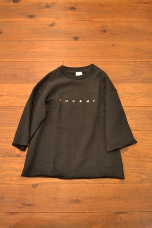 EFILEVOL / BIG SWEAT TEE(YOU&ME)