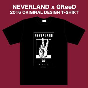 NEVERLAND x GReeD 2016 ORIGINAL DESIGN T-SHIRT