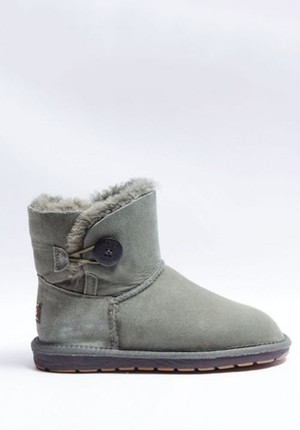 UGG Mini Single Button  Grey  送料込み