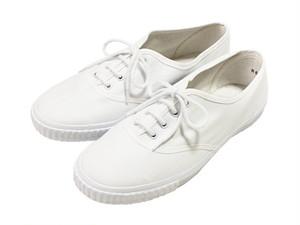 Blackmans Shoes プリムソールシューズ (ホワイト) レディース