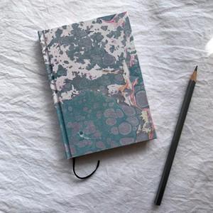 すずめや×mai marble.  マーブリング染布地のノート 03