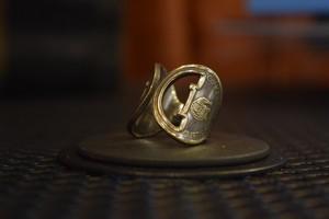 THUMBS UP MARKET original antique KEY RING4