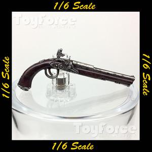 【05107】 1/6 フリントロック式拳銃 銃 ホットトイズ
