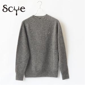SCYE BASICS/サイ・shetland wool crewneck sweater