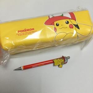 韓国製*ポケモン ピカチュウ ペンケース シャーペン セット