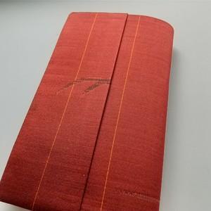 新書本 標準サイズ(絹)セパレート式ブックカバー hs005