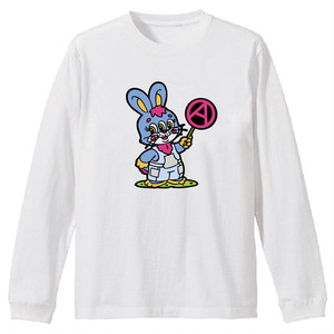 PSYCHOWORKS Rabbit long sleeve t-shirt W