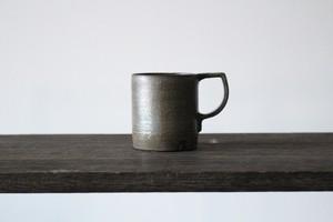 石や鉱物の硬い質感を生かしたミニマルで美しい器 陶芸作家【中島知之】 Mug Cup   マグカップ  130cc