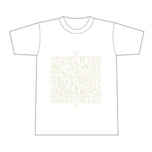 ユッキュン生誕Tシャツ2019 ゴールド