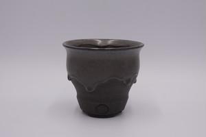 Ryuhoou plant pot『KOKUFUJI』KAKUSEN-EN LM (1)