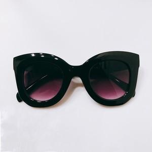 Eyewear♡バタフライ01 ブラックグラデーション