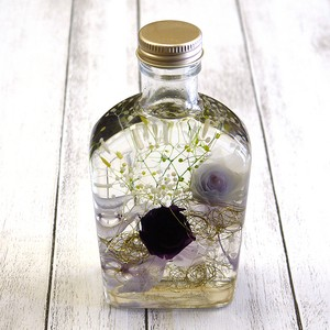 【mamahimika】紫の薔薇のハーバリウム/ハーバリウム