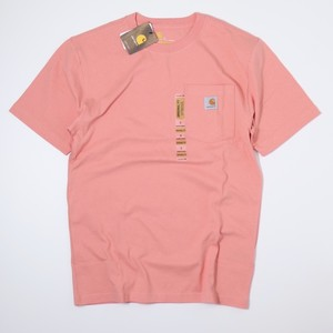 Carhartt USA s/s T-shirts (SALMON PINK) カーハート Tシャツ A743