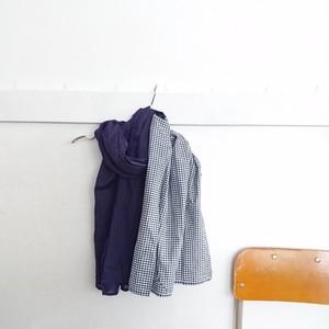 パッチストール   紫+紺ギンガム