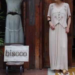 Rayon Dress / レーヨン ドレス