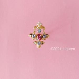 YUKI × Liquem / シャンデリア・リング