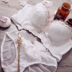 《Petit》Lace ribbon bra set B249