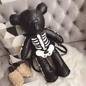 【バッグ】ファッションストリート系クマ人形個性的暗黒系バッグ42469665