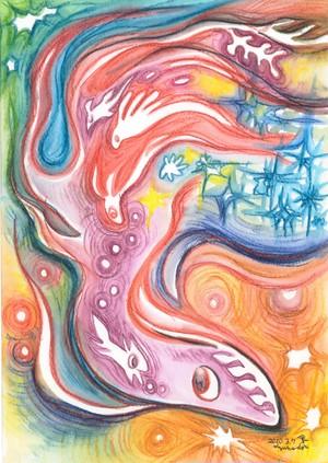 【ポスター】ドローイング-200307 / 【POSTER】 drawing-200307