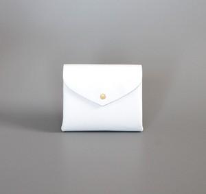 ベーシック ショートウォレット#白 / basic short wallet #white