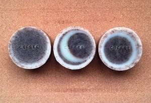 コーヒー石けん