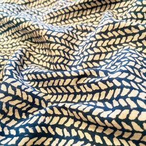 ブロックプリント生地 |Sanganerblue2 Fabric