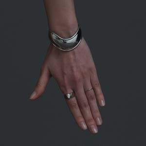 【coming soon】B-S2 silver925 bangle