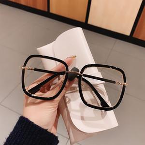 クリアレンズ伊達眼鏡メガネ