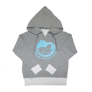 ATTACHED HOODIE SWEAT MATERNITY