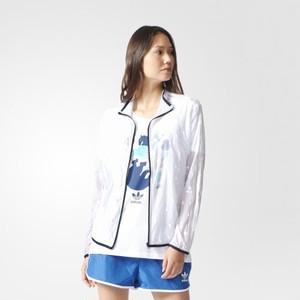 (アディダス オリジナルス) adidas Originals BK2264 WOMEN FLORIDO TRACK TOP オリジナルス トラックトップジャージ WHITE