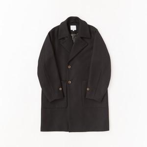 【VICTIM】WOOL BIG COAT(BLACK)