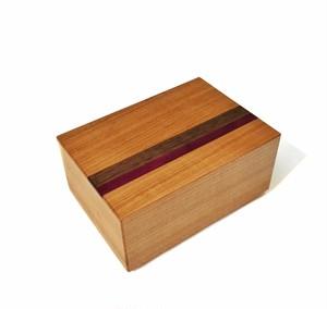 Double lids karakuri puzzle box