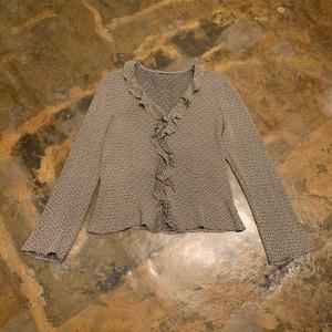 Frill blouse / U.K.