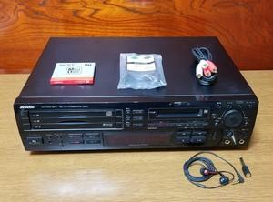 Victor XU-D400MKⅡ 3CD/MD コンビネーションデッキ 完動品・動作保証付き
