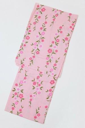 セール浴衣SALEITEM レディース浴衣 仕立て上がり 旧作 単品 ピンク ナデシコ