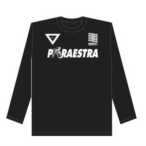 TEAM PARAESTRA ロングT BLACK