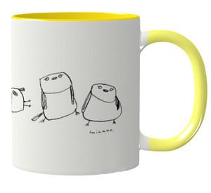 きょだつマグカップ(黄色)