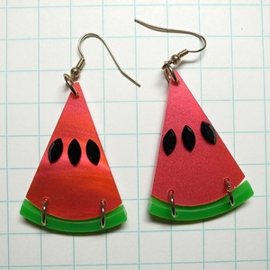 TATTY DEVINE WATER MELON EARRINGS