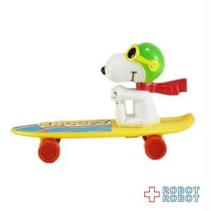 スヌーピー フライングエース  ミニ スケートボード 黄ボード