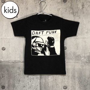 【送料無料 / ロック バンド Tシャツ】 DAFT PUNK / Kids T-shirts L XL ダフト・パンク / キッズ Tシャツ L XL