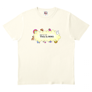 This is MIKI (ファンシー) Tシャツ