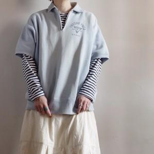 1950s Vintage Half zip Sweat shirt / Short sleeves / ハーフジップ スウェットシャツ
