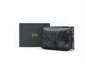 【RE.ACT】Money Clip Wallet (black)